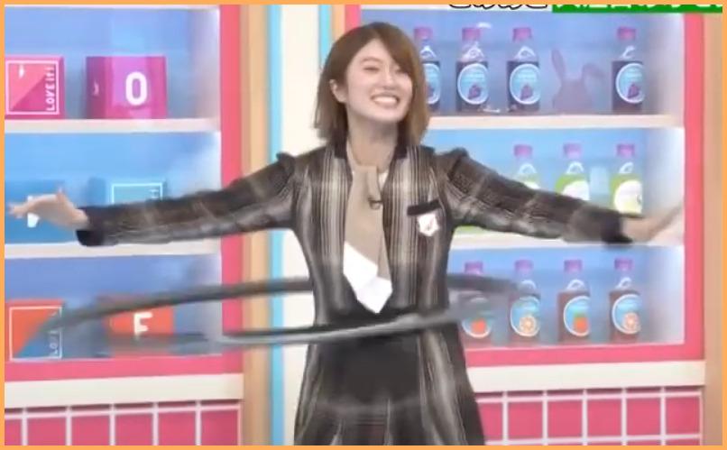 【動画】樋口日奈ひなちまがラヴィットに出演!フラフープがうますぎる【VHOOP】